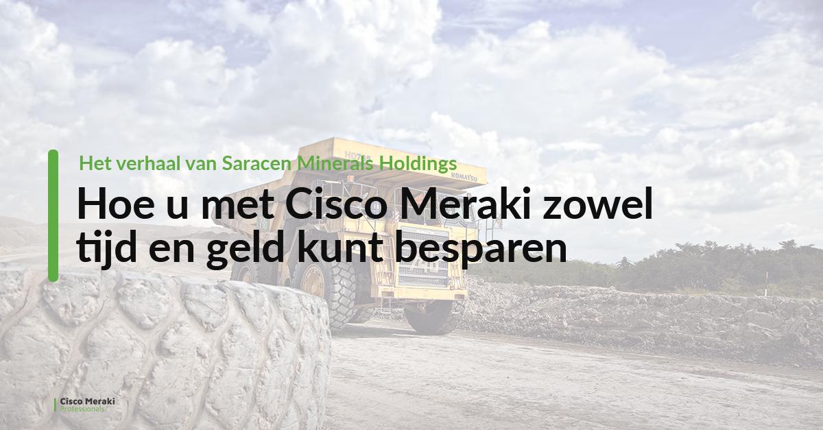 Hoe u met Cisco Meraki zowel tijd en geld kunt besparen